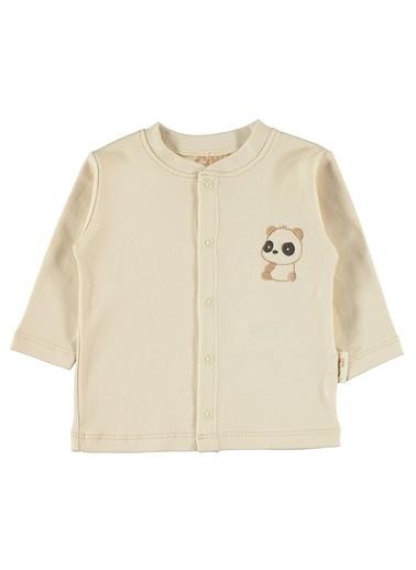 Civil Baby Bebek Naturel Pijama Takımı Bej